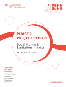 Social Determinants of Open Defecation: Phase 2 Materials