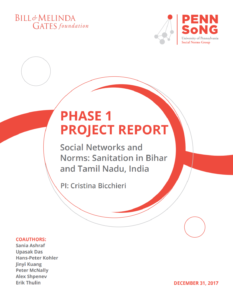 Social Determinants of Open Defecation: Phase 1 Materials
