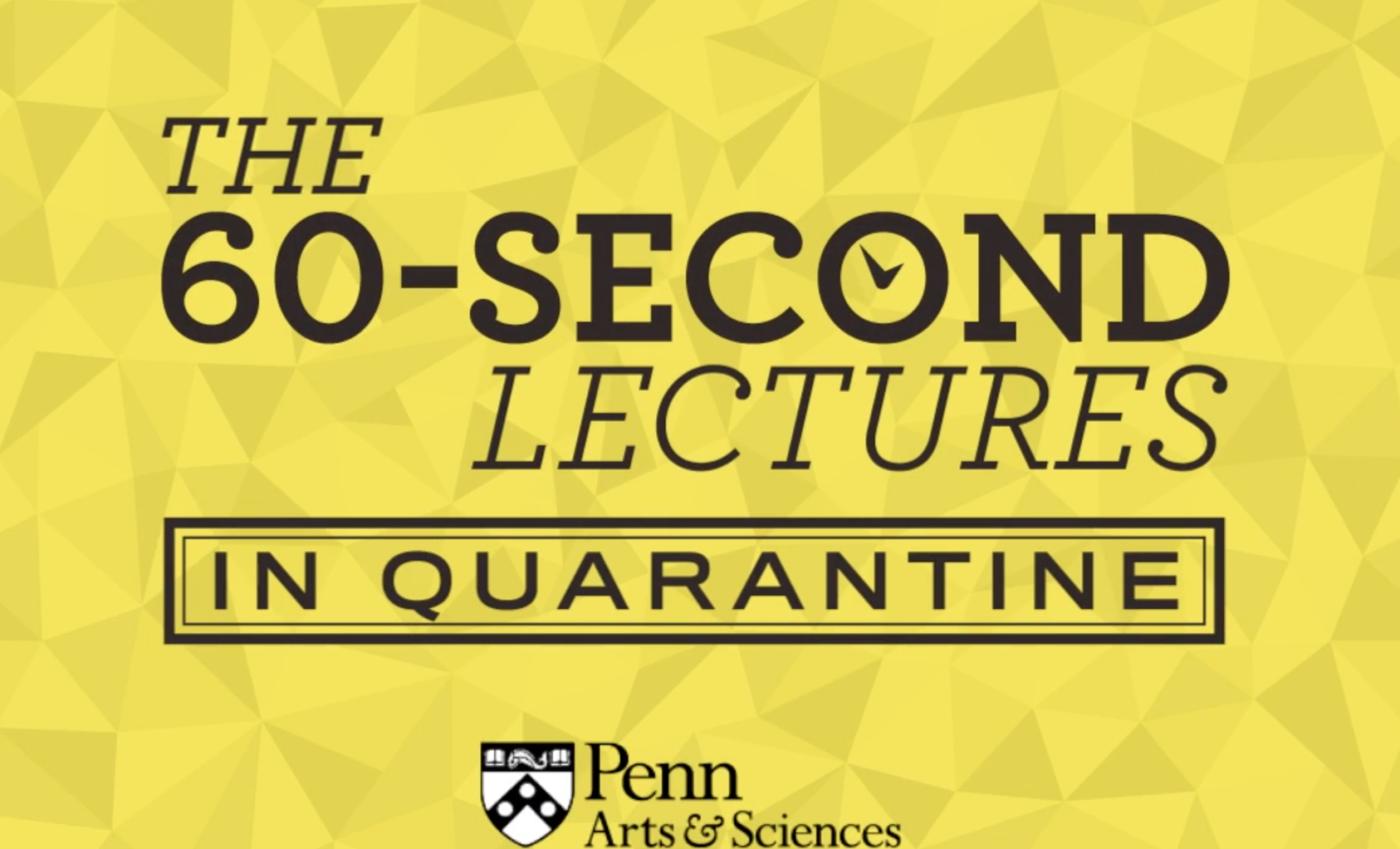 60 second Lecture 1