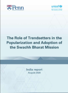 The Role of Trendsetters in the Popularization and Adoption of the Swachh Bharat Mission