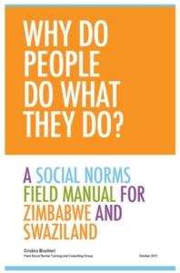 Social Norms Manual: Zimbabwe and Swaziland